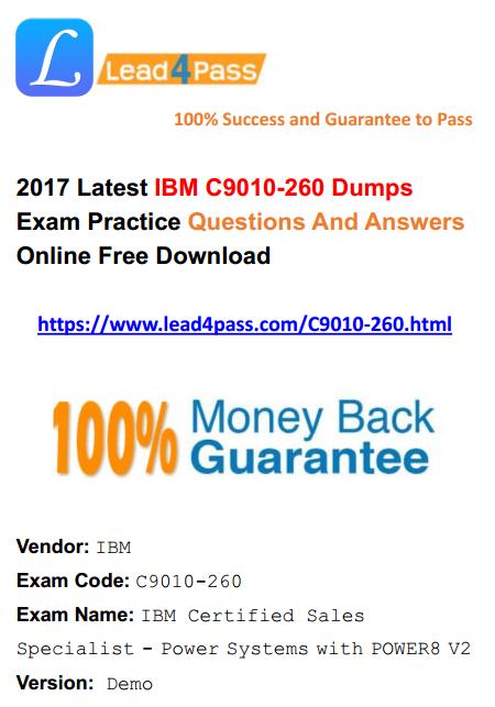 C9010-260 dumps